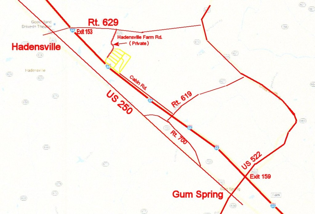 Goochland map