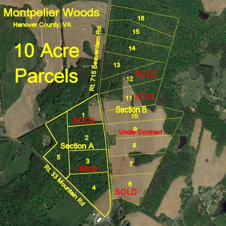 Land, Acreage and Rural Homesites for sale in Virginia